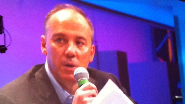 Stéphane Richard, directeur général de France Telecom (France 2 / photo AB)