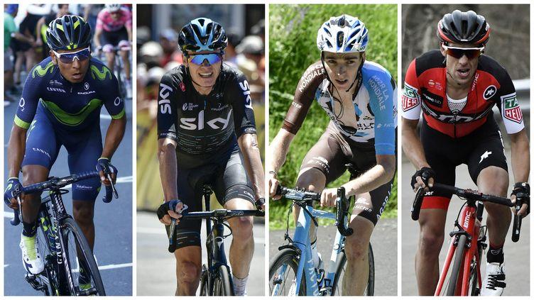 Quintana, Froome, Bardet et Porte sont les favoris du Tour de France