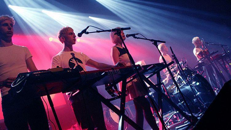 Le groupe La Femme au festival des Inrocks 2012, au Stereolux de Nantes.  (Nicolas Bretaudeau)