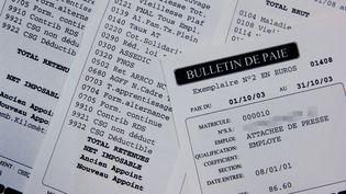 Le gouvernement propose de simplifier la fiche de paie pour faciliter la vie des entreprises. (MYCHELE DANIAU / AFP)