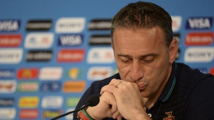 Paulo Bento a assuré que le match contre les USA était celui de la dernière chance. (RAPHAEL ALVES / AFP)