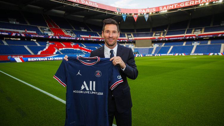 Lionel Messi portera le numéro 30 au Paris Saint-Germain. (Paris Saint-Germain)