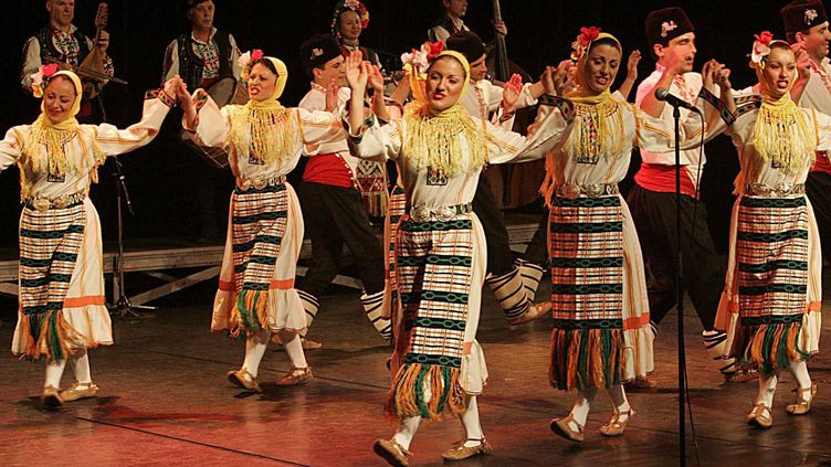 Le groupe folklorique Le Mystère des Voix Bulgares (2006)  (Jean-Yves Bonvarlet)