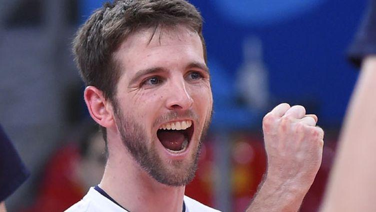 Le joueur de l'équipe de France, Nicolas Rossard