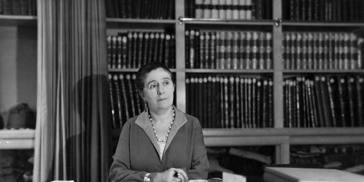 La couturière Jeanne Lanvin en 1934  (Getty Images)
