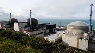 L'EPR de Flamanville, dans la Manche. (CHARLY TRIBALLEAU / AFP)