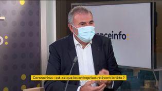Pierre Pelouzet, médiateur des entreprises (1er décembre 2020). (FRANCE INFO / RADIO FRANCE)