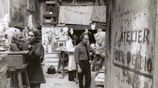 L'impasse Ronsin dans les années 1900. (FRANCEINFO)