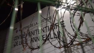La prison de Lille-Annoeullin (Nord) où se trouveun quartier de prise en charge de la radicalisation. (MAXPPP)