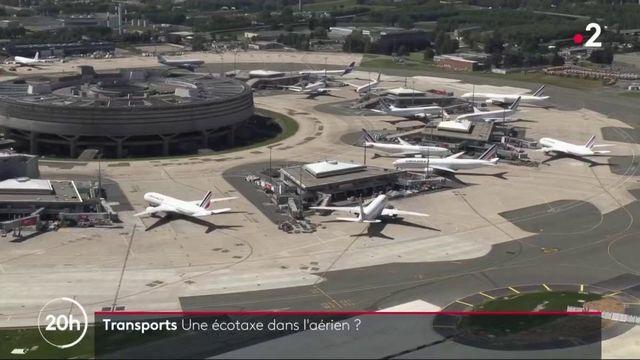 Transports : l'aérien va t'il subir une écotaxe ?