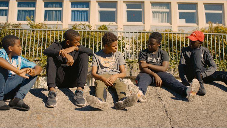 """Al-Hassan Ly, Issa Perica, parmi les jeunes acteurs des """"Misérables"""" (SRAB Films - Rectangle Productions - Lyly films)"""