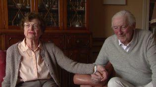 Tous les deux pris en charge à l'hôpital Bichat à Paris, les époux Marchais ont tous les deux vaincus la maladie. (FRANCE 2)