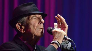 Leonard Cohen en 2013 à Dublin  (SI1/WENN.COM/SIPA)