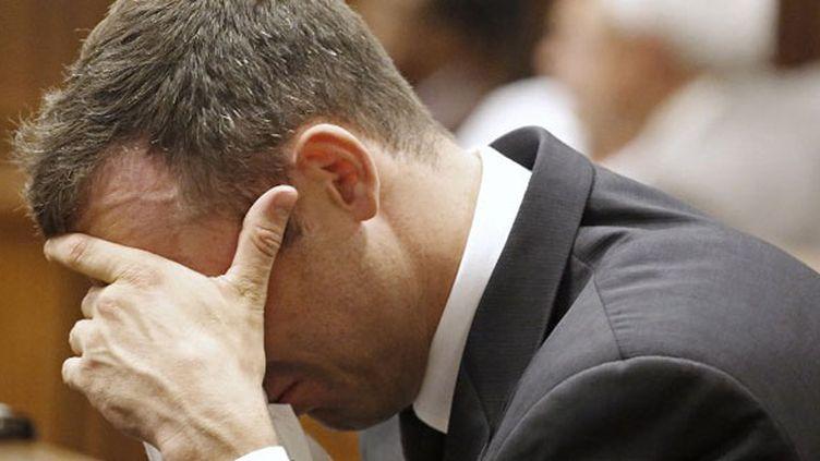 Moment d'émotion pour Oscar Pistorius au tribunal