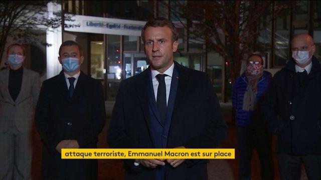 Professeur assassiné à Conflans-Sainte-Honorine : déclaration d'Emmanuel Macron