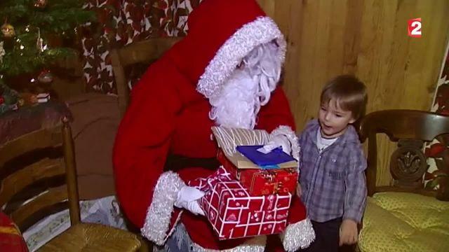 Noël : visite du père Noël dans le bassin d'Arcachon