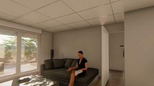 Plusieurs scientifiques montpelliérains (Hérault) ont cherché à savoir à quoi ressemblera l'appartement du futur. Ils imaginent un appartement où les objets et appareils seraient tous connectés aux habitants. (FRANCE 3)