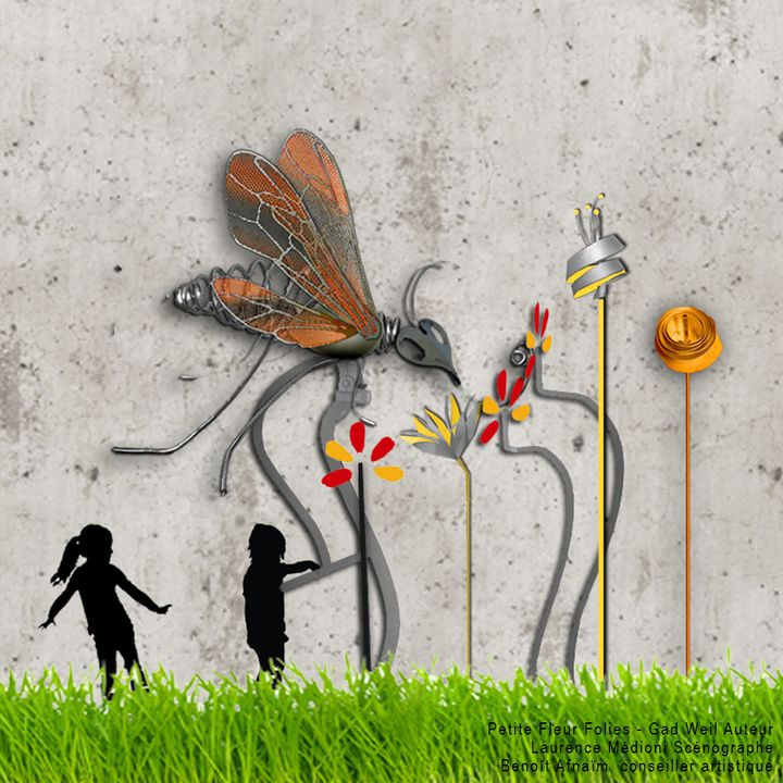 Une des animations pour sensibiliser les enfants à la biodiversité.  (Petite Fleur Folies )