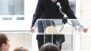 Le chef Louis Lanrgrée lors d'une présentation auDavid Geffen HalldeNew York en 2017. (MICHAEL LOCCISANO / GETTY IMAGES NORTH AMERICA)