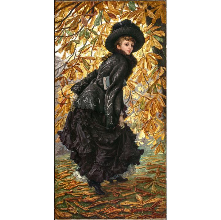 """James Tissot, """"Octobre"""", 1877 , Canada, Musée des beaux-arts de Montréal, don de Lord Strathcona et de la famille (Photo © MBAM, Christine Guest)"""