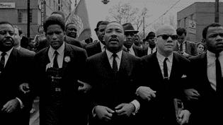"""Photo extraite du documentaire réalisé par Michael Hamilton et John Barbisan, """"Je suis Martin Luther King"""". (CPB FILMS)"""
