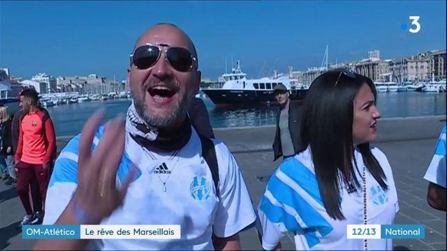 OM - Atlético : tout Marseille rêve de la victoire en finale