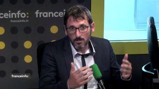 Matthieu Orphelin, député La République en marche du Maine-et-Loire, sur franceinfo. (FRANCEINFO)