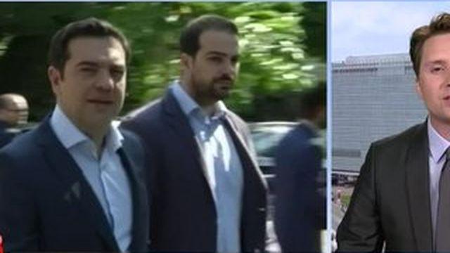 """Tsipras est à Bruxelles """"avec des propositions mais aussi des exigences"""""""