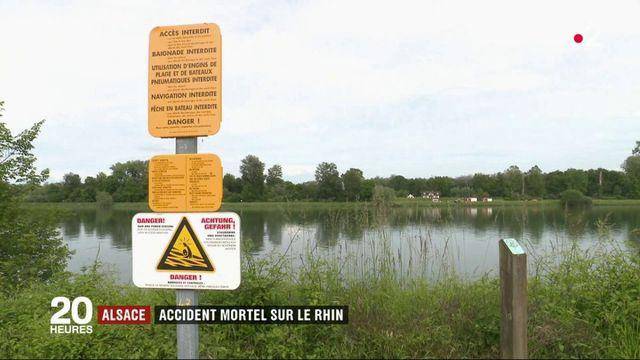 Alsace : le chavirement d'un bateau fait trois morts et une disparue dans le Bas-Rhin