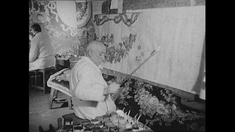 Les plus grands peintres du XXème siècle ont collaboré avec la tapisserie d'Aubusson. (FRANCEINFO)
