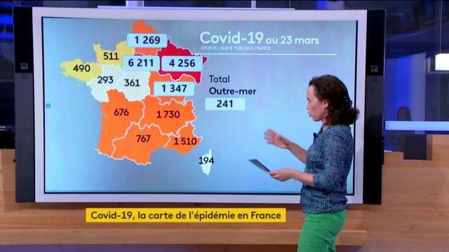 Coronavirus : l'Ile-de-France région la plus touchée