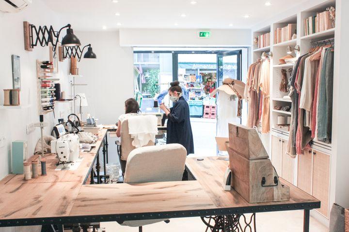 Atelier de couture Tilli, 2021 (Tilli)