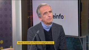 Arnaud de Belloy, directeur général du groupe Herta (02 décembre 2020). (FRANCEINFO / RADIO FRANCE)