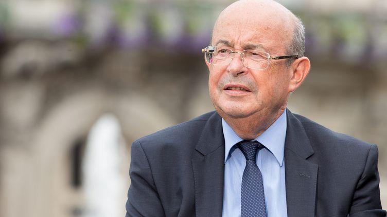 Jean Germain, le sénateur-maire de Tours, le 31 août 2013 à Tours (Indre-et-Loire). (  MAXPPP)