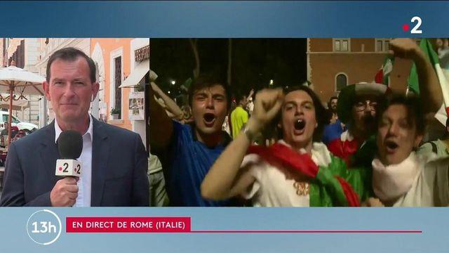 Euro 2021 : après la victoire des Italiens, quelles sont les célébrations organisées sur place ?