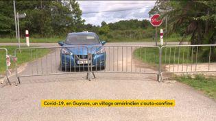 Un village amérindien s'est autoconfiné en Guyane (FRANCEINFO)