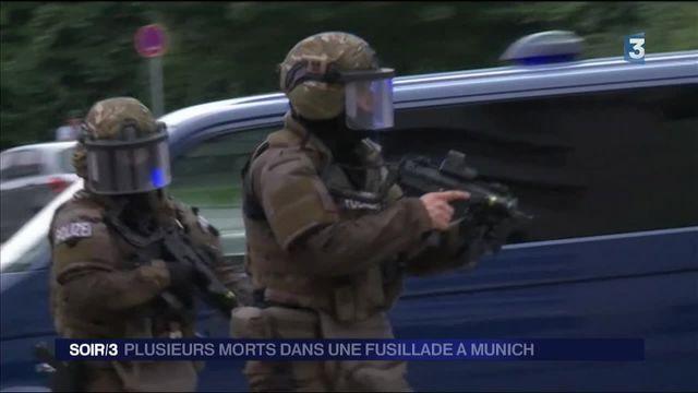Allemagne : au moins neuf morts dans une fusillade à Munich
