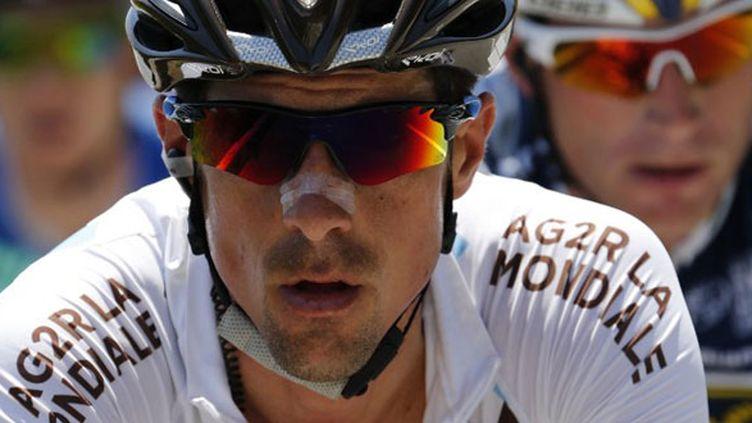 Sébastien Minard a été plus de 120 kilomètres en tête avec quatre compagnons d'échappée lors de la 3e étape du Tour