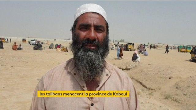 Afghanistan : les Talibans menacent la province de Kaboul, des Français rapatriés