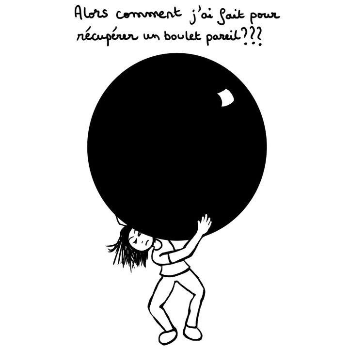 """""""Chronique d'une survivante"""", page 18  (Catherine Bertrand )"""