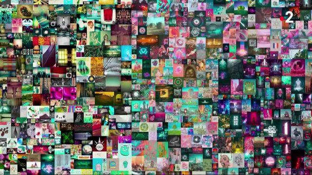 Art : une oeuvre numérique vendue à près de 58 millions d'euros