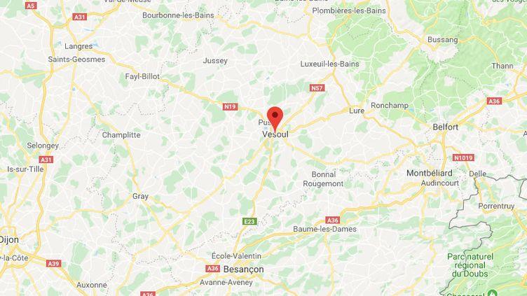 Deux personnes ont été grièvement brûlées jeudi 24 janvier après une explosion dans un immeuble duquartier desRêpes, àVesoul, en Haute-Saône. (GOOGLE MAPS)