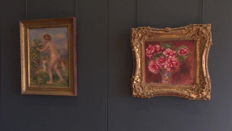 Ces deux tableaux de Renoir font partie des oeuvres volées par les nazis. (FRANCE 3)