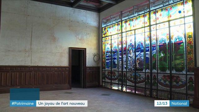 Patrimoine : la villa Laurent, joyau de l'art nouveau