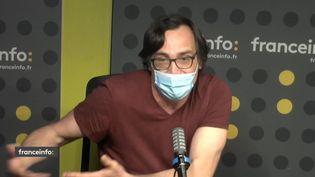 """Pierre-Yves Mora, créateur de """"L'art du crime"""". (FRANCEINFO / RADIOFRANCE)"""