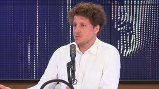 Julien Bayou, le 6 juillet 2020. (FRANCEINFO / RADIOFRANCE)