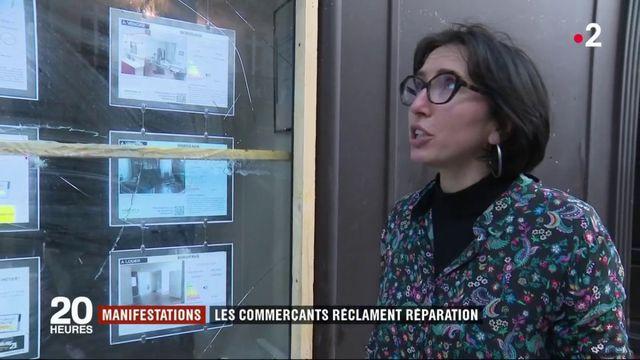 """Manifestations """"gilets jaunes"""" : les commerçants réclament réparation"""