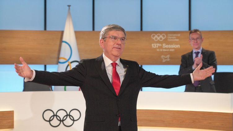 Thomas Bach, président du CIO (GREG MARTIN / OIS/IOC)