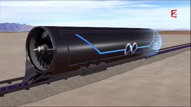 Transports : l'Hyperloop, le train supersonique du futur que la SNCF finance