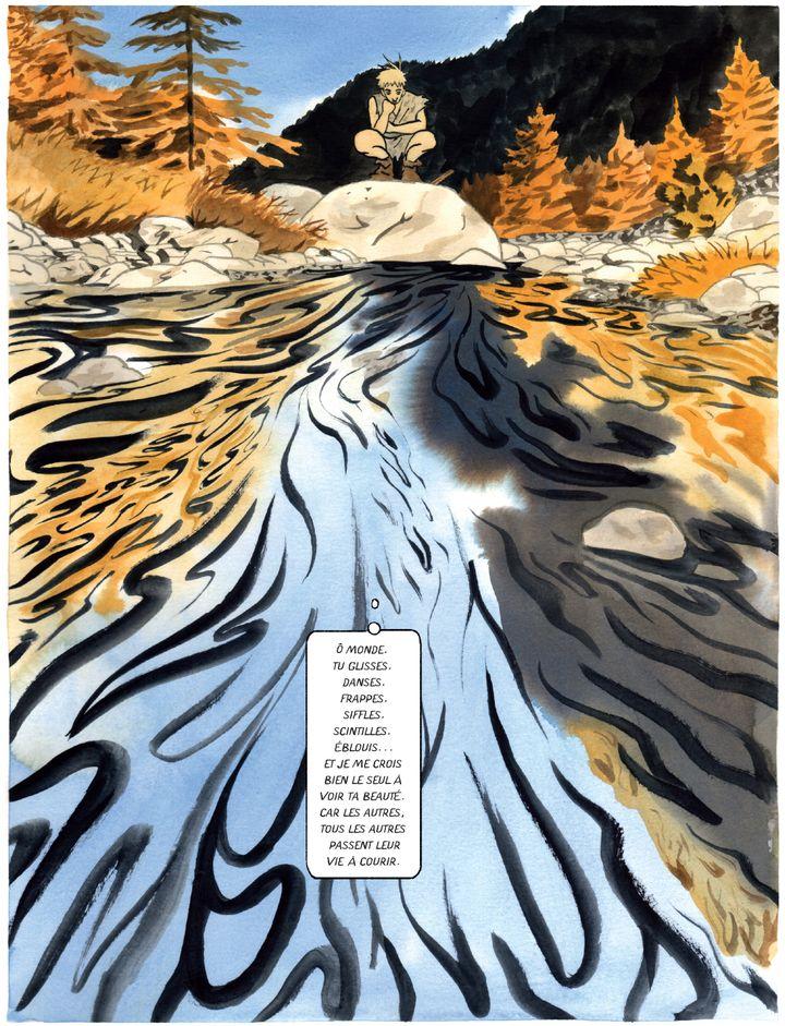 """""""Penss et les plis du monde"""", page 8 (Jérémie Moreau / Delcourt)"""